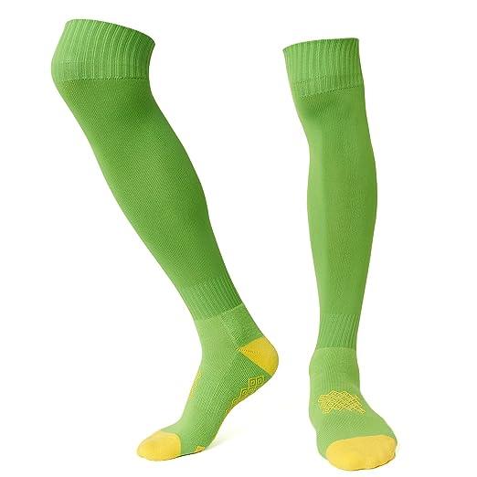 30cd03fadfe Amazon.com  Soccer Compression Socks Nen Knee High Non Slip Grass ...
