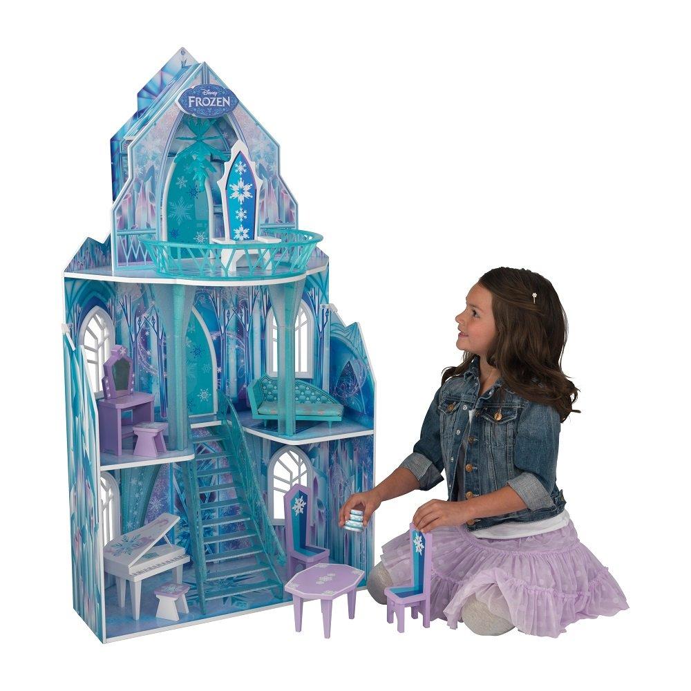 Puppenhaus Holz - Kidkraft Disney Frozen Eiskönigin Puppenpalast - Frozen Puppenhaus