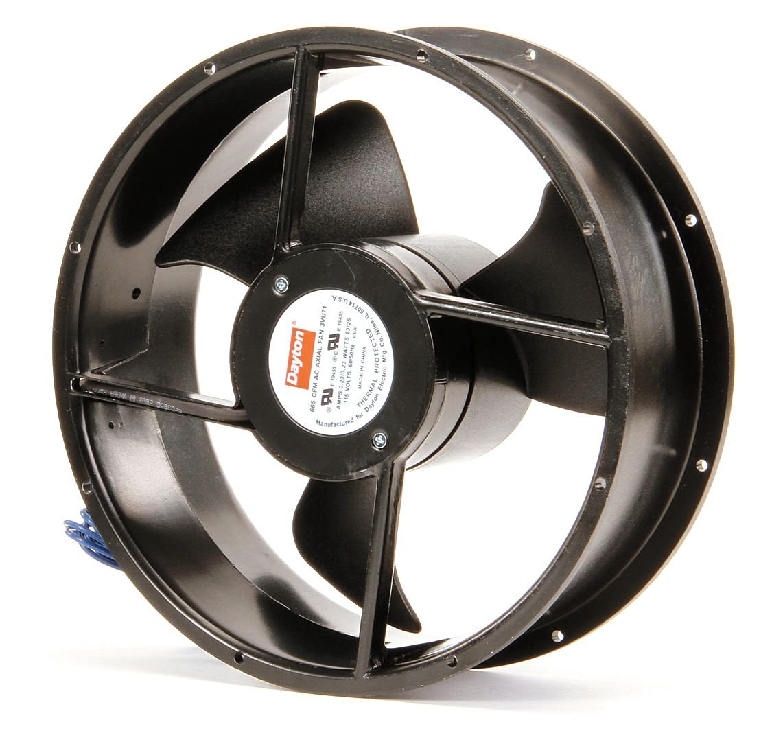 Dayton 3VU71 Fan, Axial, 550 CFM, 115v