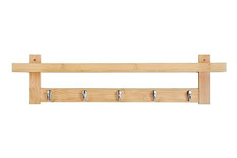 Amazon Wilshine Coat Rack Wall Mounted With Shelf For Entryway