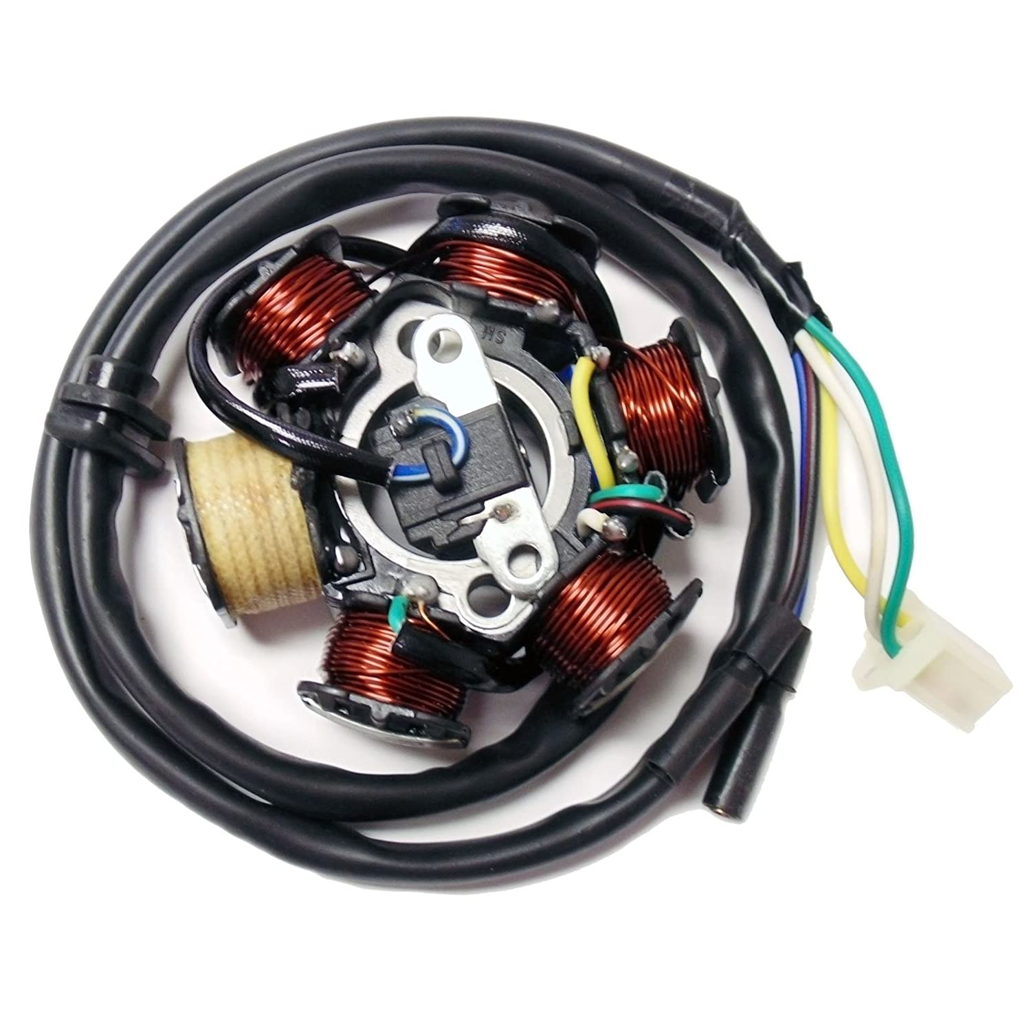 1004-6 MMG Magneto Stator 6 Poles Coil GY6 Motorcycle Scooter Moped 125cc 150cc