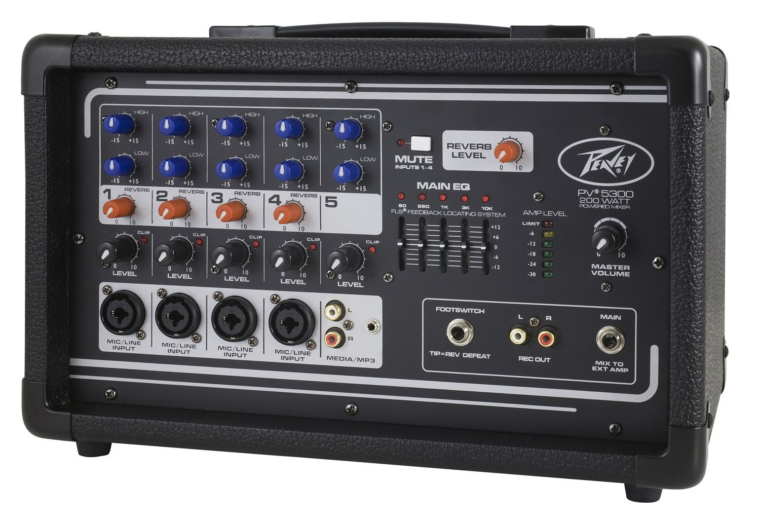 Peavey PV5300 Powered Mixer by Peavey (Image #3)