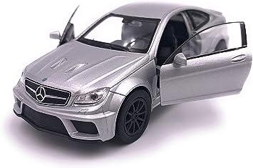 blanco Mercedes Benz C63 AMG Coup Series 1:32 Scale Model Car OEM autorizado por Daimler Collectors Model
