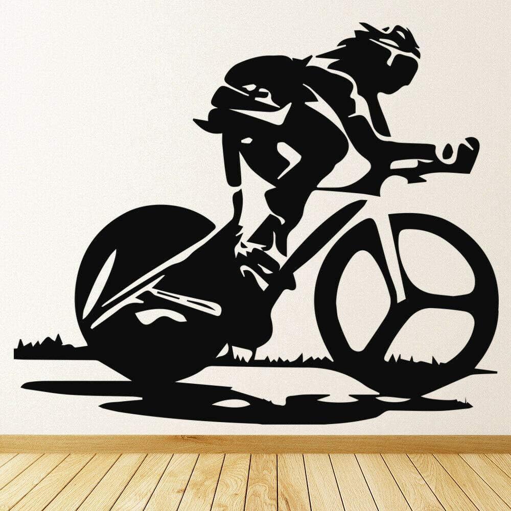 Tianpengyuanshuai Vinilo para Bicicleta de Vinilo Sala de Fitness ...