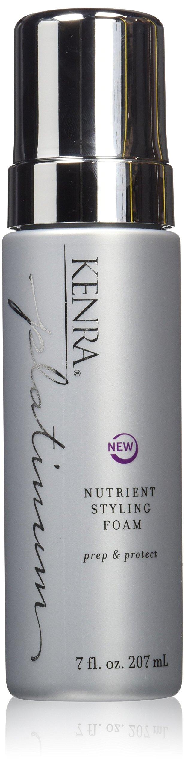 Kenra Platinum Nutrient Styling Foam, 7-Ounce by Kenra