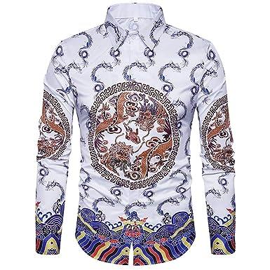 Camisas Polo Impresas para Hombre De Manga Larga con Estampado De ...
