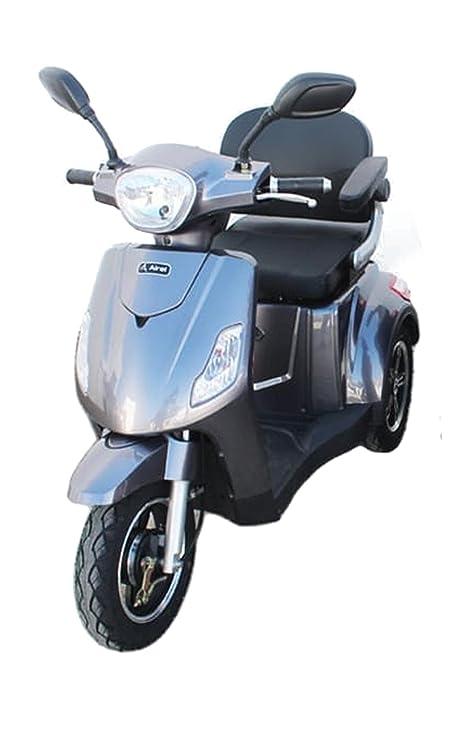 KENROD Scooter Eléctrico 3 Ruedas | para Adultos | 50 km Autonomía | Escalada hasta 18