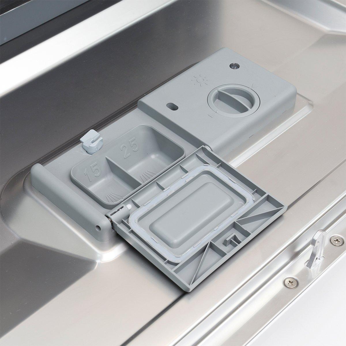 Ensue Countertop Dishwasher Portable Compact Dishwashing Machine Silver