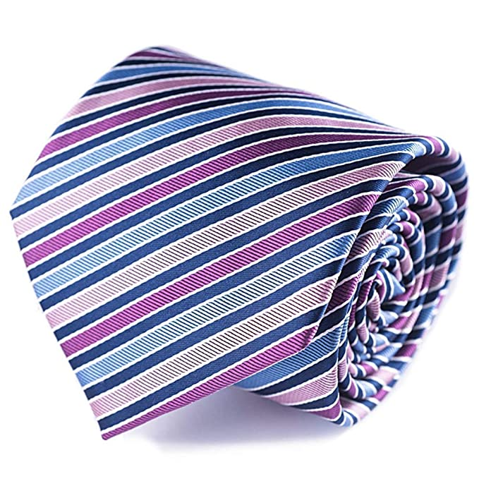 corbatas rayas de hombre cielo azul rose lila corbatas Multicolor ...