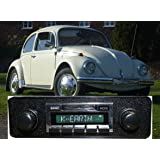 1968-1985 Volkswagen Bug Beetle USA-630 II High Power 300 watt AM FM Car Stereo/Radio with iPod Docking Cable