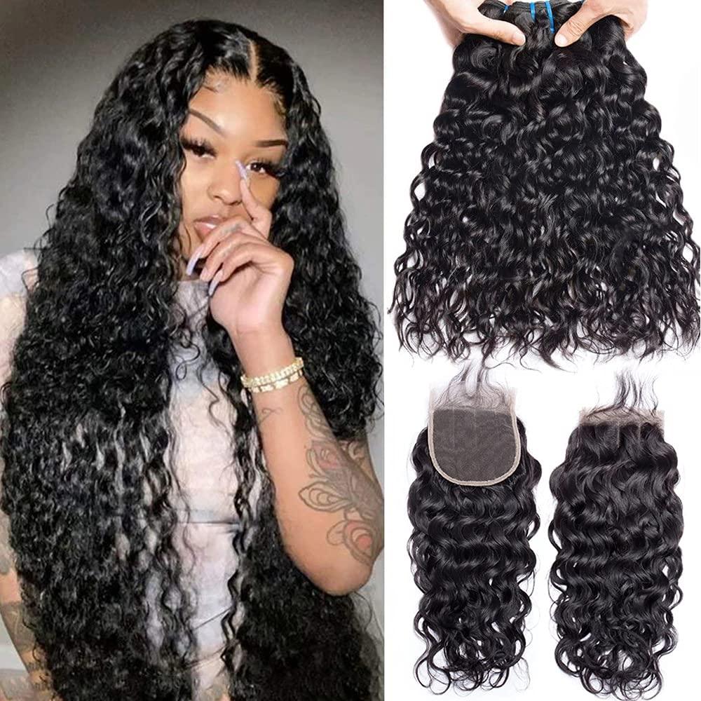 Ranking TOP10 Water Wave Bundles Unprocessed Brazilian Store Hair Extensions Vigrin
