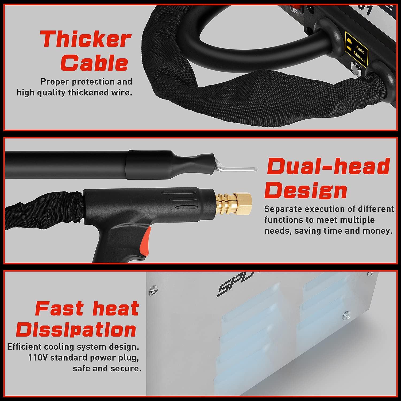 Tools & Equipment Automotive TIMTOKIT Stud Welder Dent Repair Kit ...