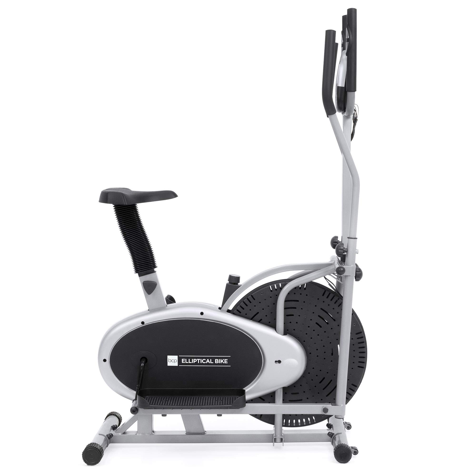 Elliptical Bike 2 IN 1 Cross Trainer Exercise Fitness Machine Upgraded Model by Best Choice Products (Image #3)
