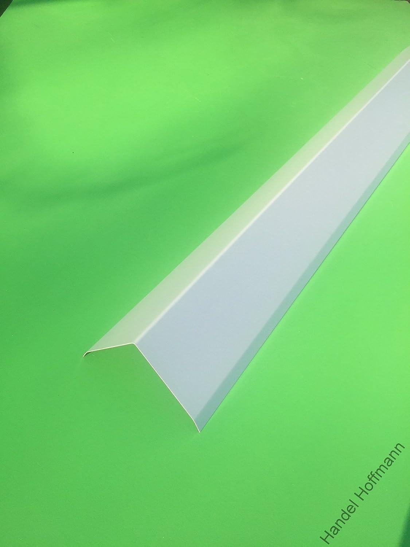 gro/ß, Anthrazit Firstblech 2 m lang Aluminium farbig 0,8 mm