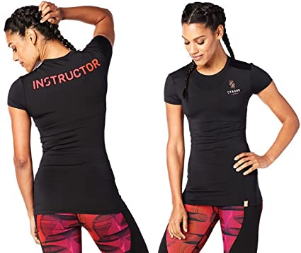 STRONG By Zumba Instructor Compression Tee (XS)