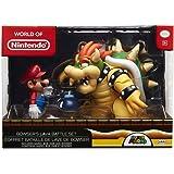 Nintendo Super Mario Bowser Vs Mario Diorama...