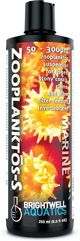 Brightwell Aquatics ZooPlanktos-S - Zooplankton Food Supplement for Marine and Reef Aquarium