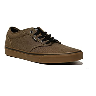 6caaa59bdb87 Image Unavailable. Image not available for. Color  Vans ATWOOD VN0A327LOMM  Brown Gum ...