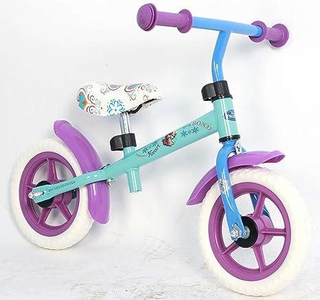 Bicicleta del niña Frozen sin pedales de metal rueda de 10 ...