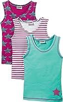 Kinderbutt Unterhemd 3er-Pack Single Jersey gestrickter Ringel
