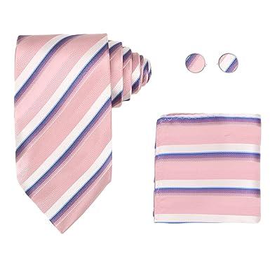 Y&G H5185 Idea rosa raya regalo del descuento del lazo de seda del ...