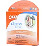 Off! Clip-On Refills, 2 Count Refill (Pack of 5), 10 Total Refills
