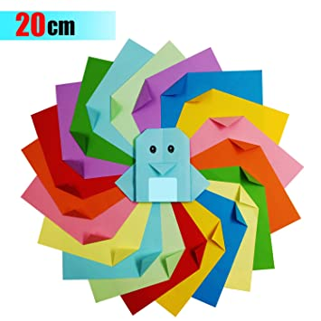 Coloured Origami Paper