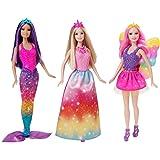 Barbie Fairytale 3-Doll Giftset
