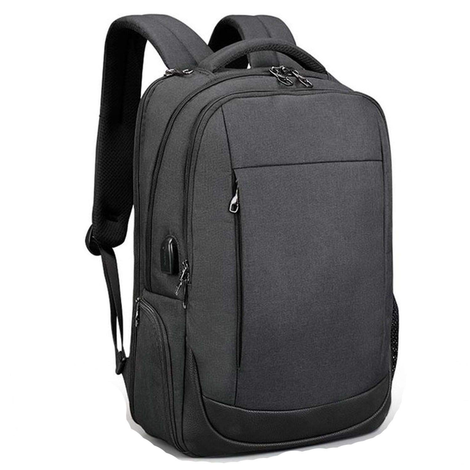 55e54325de20 Amazon.com: USB Waterproof Anti Theft Backpacks Male Laptop Travel ...