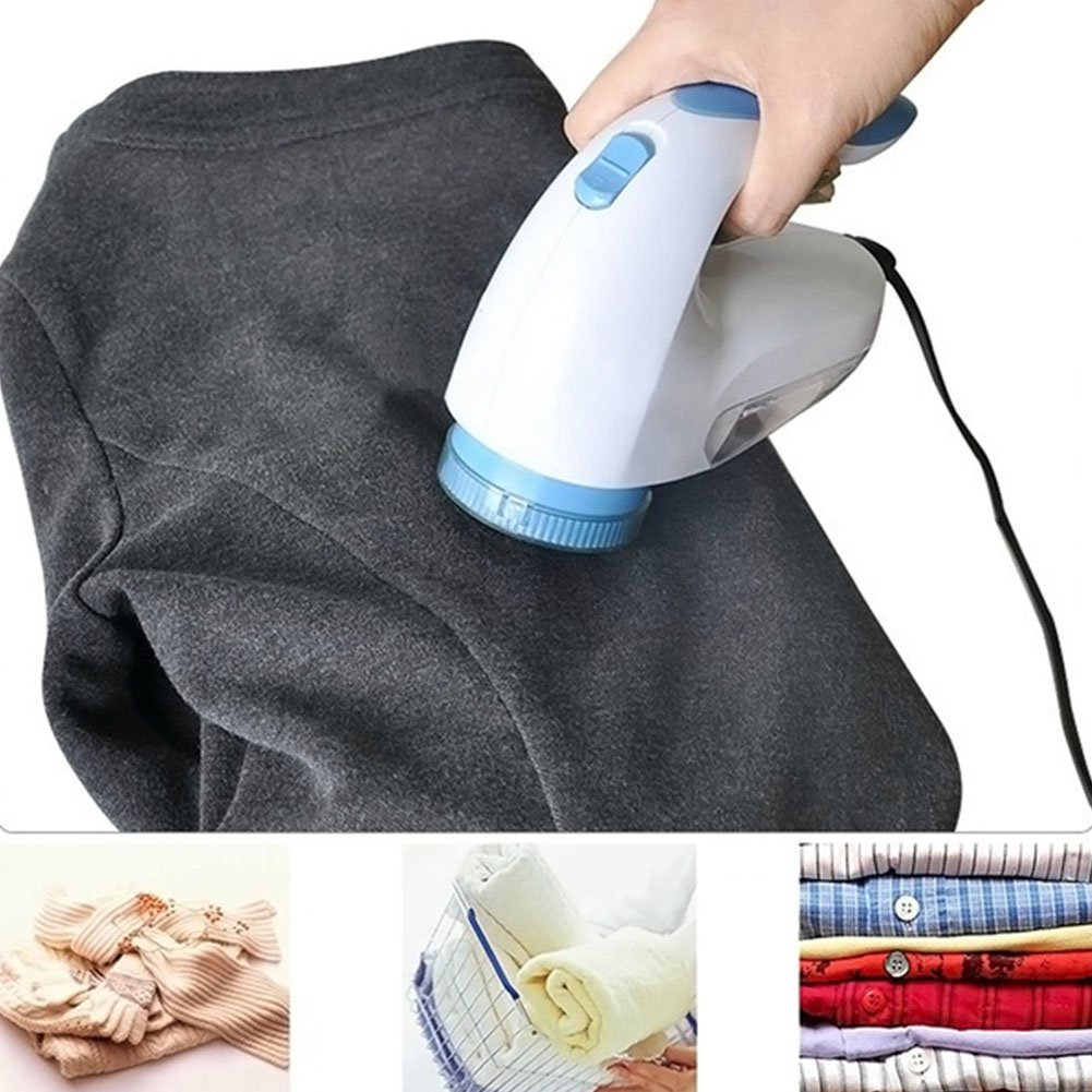 GeKLok Portable Fabric Shaver Electric Lint Remover for Sweater, Fabric Clothes, Knitwear, Carpet & Blankets, Bobble Remover