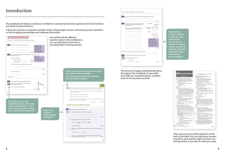 AQA GCSE Chemistry 9-1 Grade 8/9 Booster Workbook (GCSE Science 9 ...