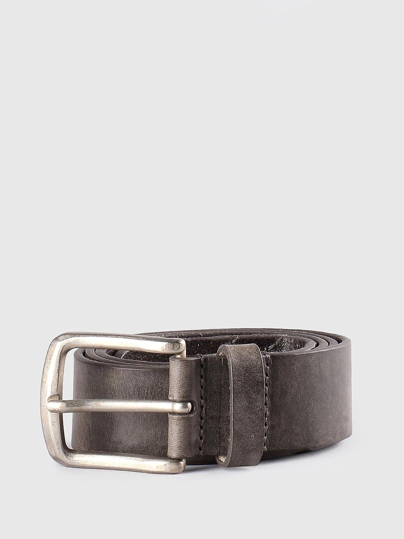 Diesel Mens Line Leather Belt