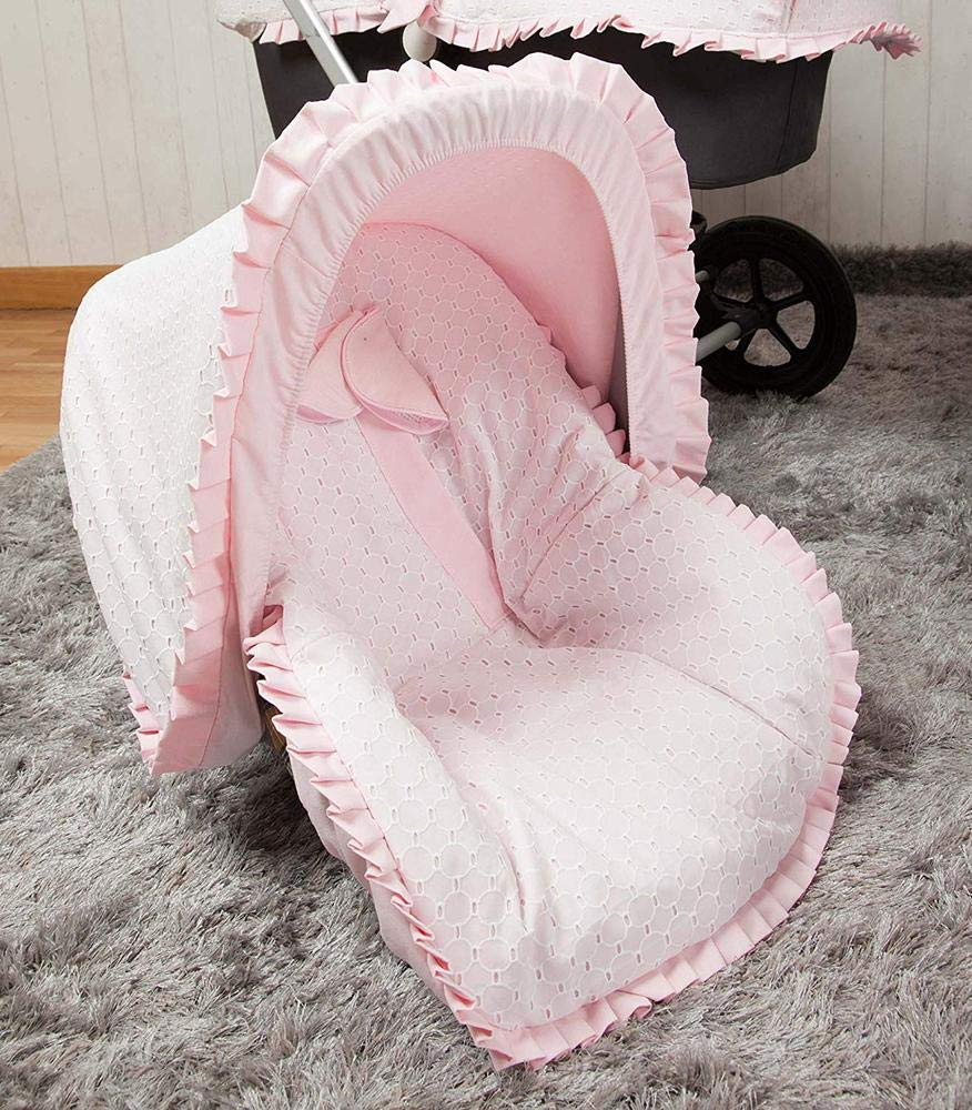Babyline Love - Colchoneta para silla grupo 0, color rosa: Amazon ...