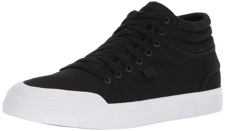 DC Men's Evan Smith Hi Tx Skate Shoe 9.5 D(M) US|Black/White