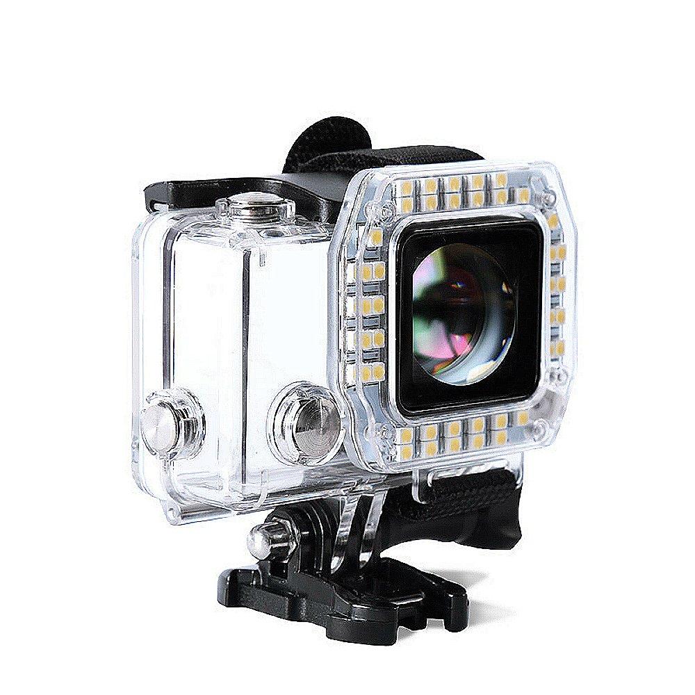 Tolifo HF40 LED Light LED Ring Shooting Night Flash Light for GoPro Hero 3+, Hero 3 Plus, Hero 4