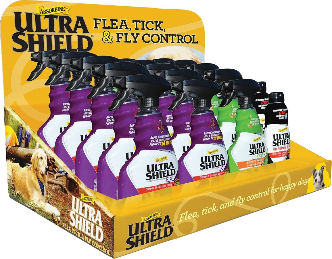 W F Young Pet 450300 25 Piece Ultrashield Flea and Tick Counter Display