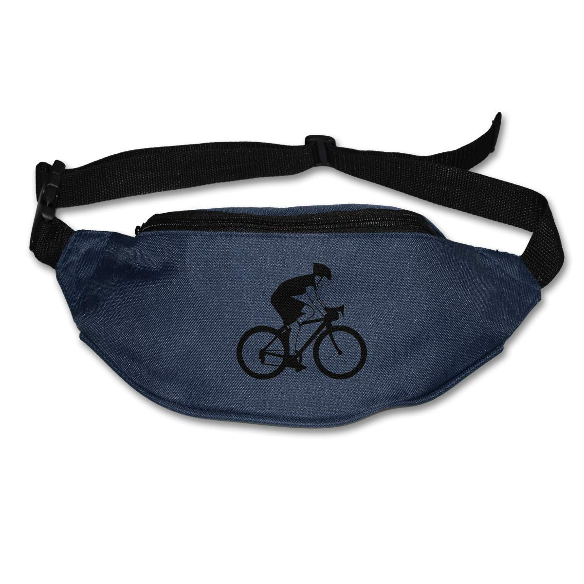 Waist Purse Bicycle Cycling Funny Art Unisex Outdoor Sports Pouch Fitness Runners Waist Bags