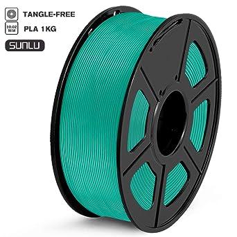 Sunlu - Filamento 3D PLA, Verde erba, 1: Amazon.es: Industria ...