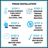 SlipX Solutions Adhesive Bath Safety Treads Adds