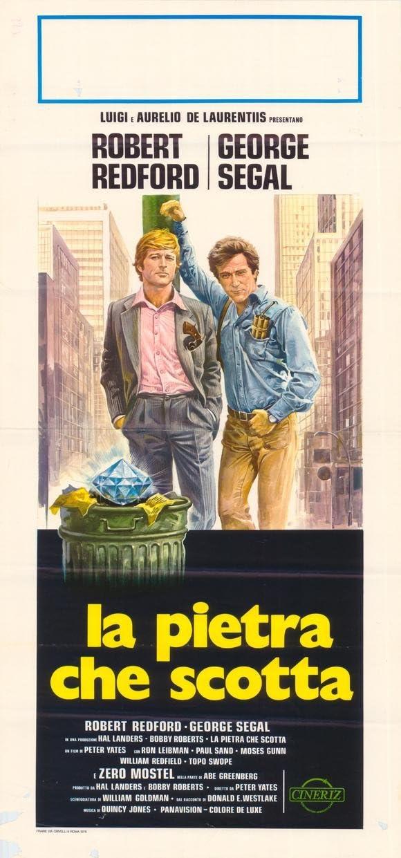 La roca caliente del cartel de película italiana 11 x 17 - 28 ...
