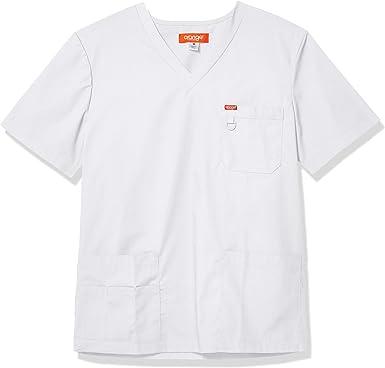 Orange Standard Balboa - Camiseta unisex con cuello en V, con múltiples bolsillos y anilla en D para hombre - Blanco - XX-Small: Amazon.es: Ropa y accesorios