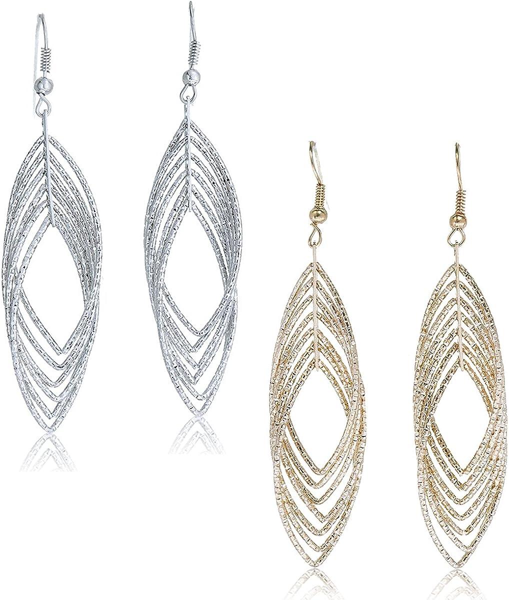 Bohemian Earrings Long Dangle Earrings Mordern Earrings Everday Earrings Casual Earrings Hammered Earrings Sterling Silver Earrings