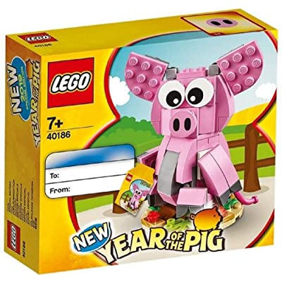 LEGO 40186 Year of Pig: Toys & Games