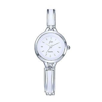 economico vendita all'ingrosso nuova collezione Orologi Polso Eleganti Fiore Strass Orologi Donna Acciaio Moda