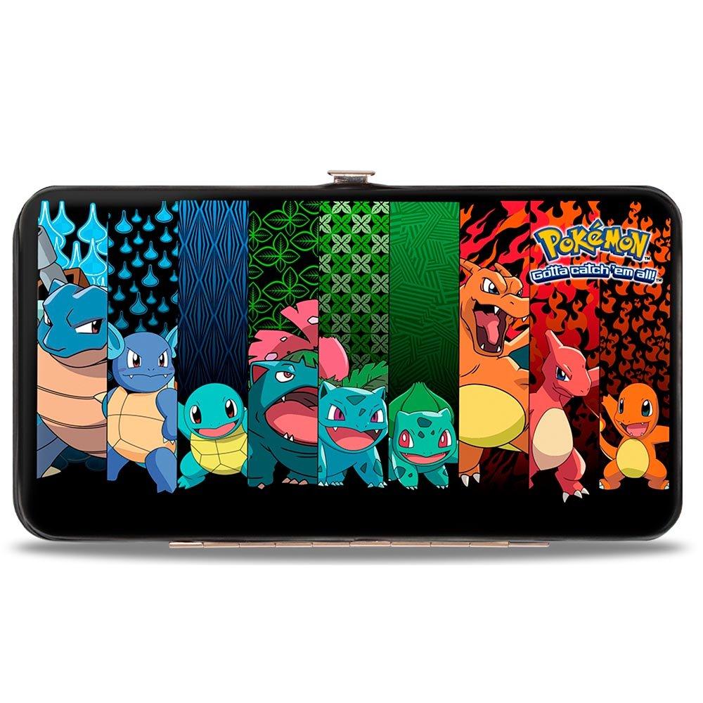 Buckle-Down Hinge Wallet - Pokemon HW-PKAK