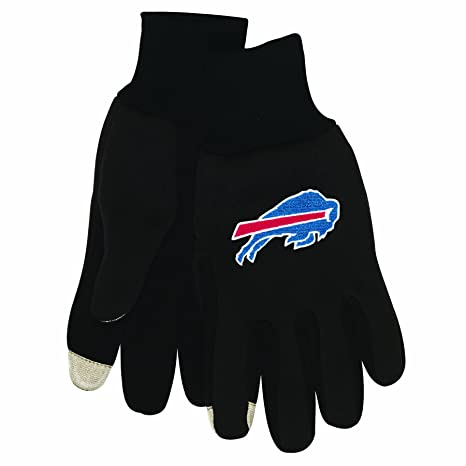 02ea63cd0 Amazon.com   Wincraft NFL Mens Technology Touch Gloves   Clothing