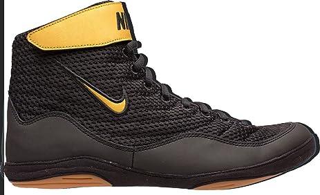Nike Men's Inflict 3 Wrestling Shoes (Black/Black, 7 D(M)