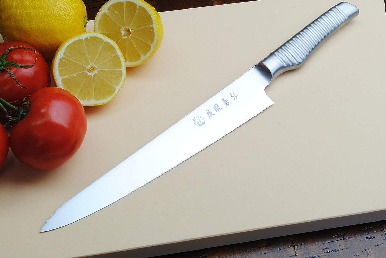 amazon com yoshihiro hayate inox aus 8 sujihiki japanese chefs