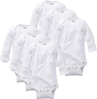 Essentials Boys 6-Pack Long-Sleeve Bodysuit