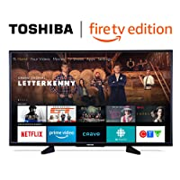 Toshiba 50LF621C19 50-inch 4K Ultra HD Smart LED TV with HDR - Fire TV Edition (+ Free English Echo Dot)